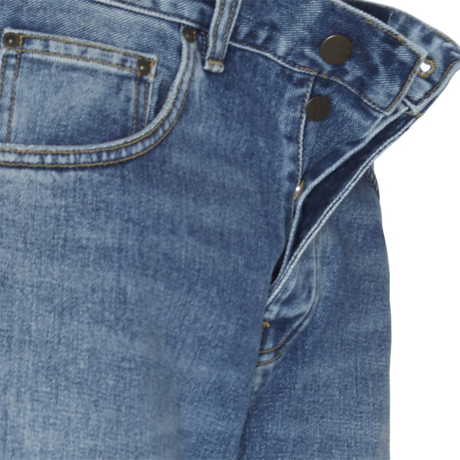 NEWEL PANT I024905 - Newel Pant - Jeans - Relaxed fit - BLUE WORN BLEACHED - 4